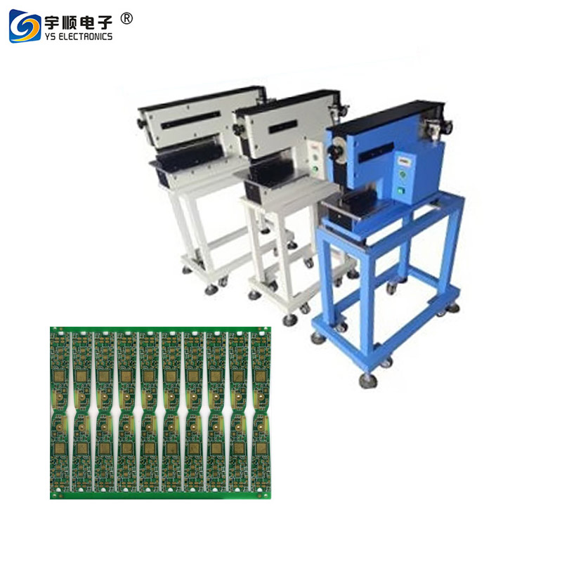 pcb separator machine with two linear cutting thick metal board,Buy Multi Blades Depaneling,Pcb Boards Depaneling,Led Pcb Cutting Machine Product on pcbcuttingmachine.com