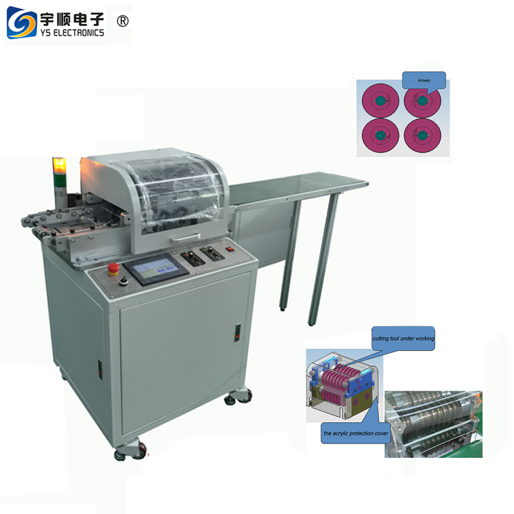 Auto Visual alignment PCB singulation equipment -YSVJ-650 LED cutter manufacturer LED separator supplier