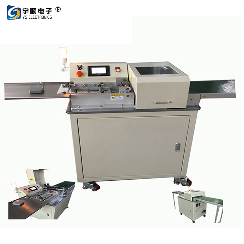 Multi-blades Sub Board pcb depaneling Machine With a Platform