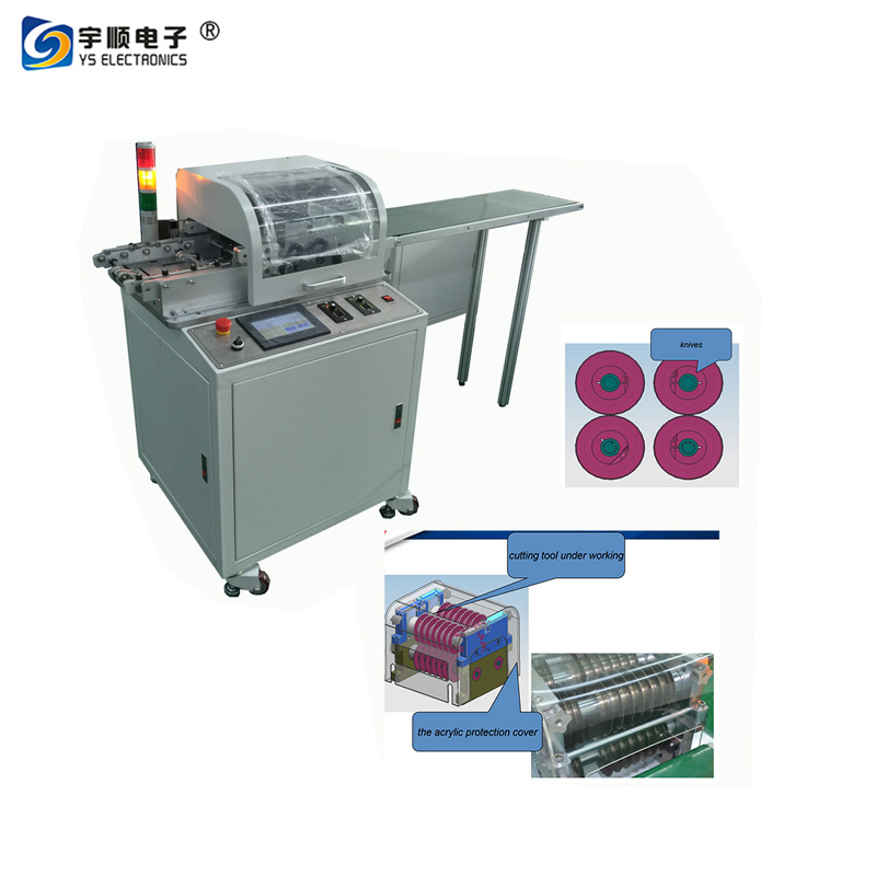 Pneumatic V-Cut Machine,PCB V-scoring machine, Aluminum PCB Depanelizer