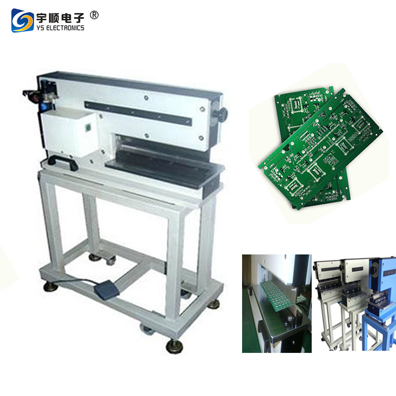 led MCPCB strip separator PCB V Cutting Capacity Pre-Scored PCB Separator With Large Lcd Display